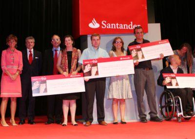 Cheques Semana Solidaria Santander 2008