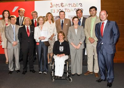Cheques Semana Solidaria Santander 2009
