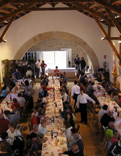 Celebración en el Albergue